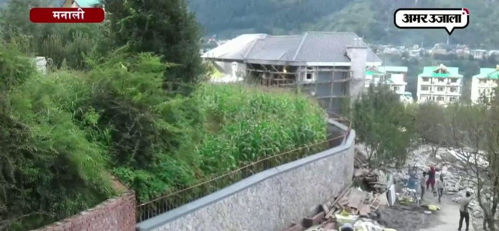 New home of kangana ranaut in manali