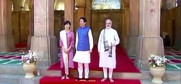 Image result for जापानी पीएम की पत्नी