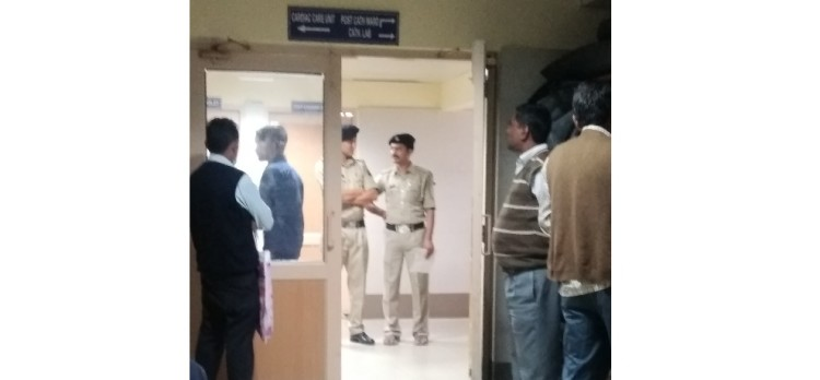 Shimla rape case ig jahoor jaidi admitted in igmc hospital
