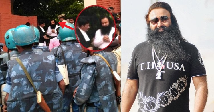 Policemen of 4 states were planning to escape Ram Rahim