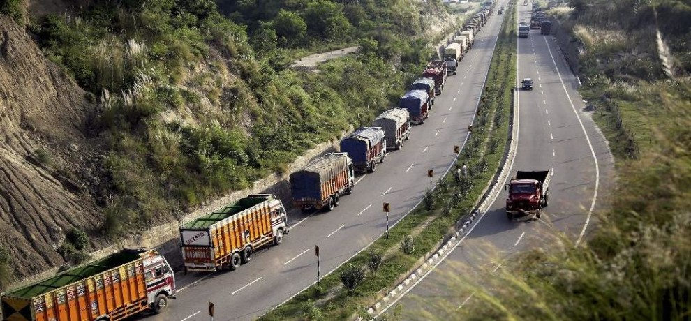 j&k udhampur traffic resume on highway