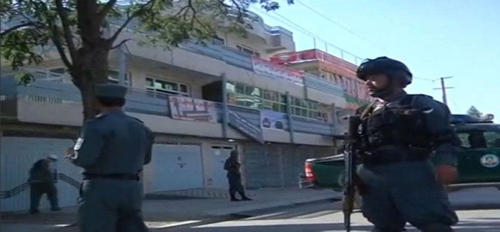 2 security force members killed in suicide bombing in kabul