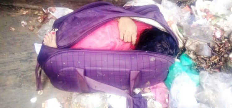 Himachal Solan Baddi Woman dead body found in Bag