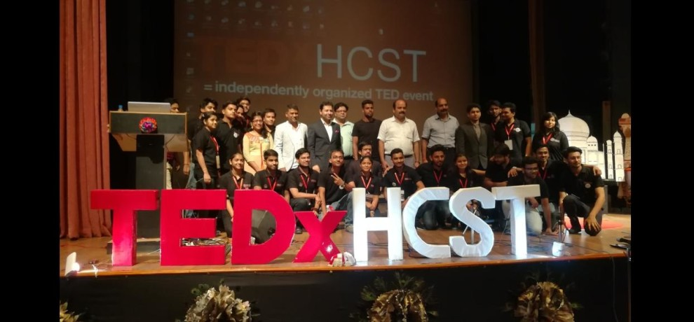 Workshop Program was organized by TEDx at Hindustan College Of Science And Technology