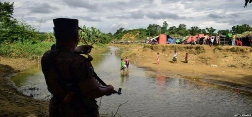 Rohingya Muslim youthSuspicious activity in bhagwanpur