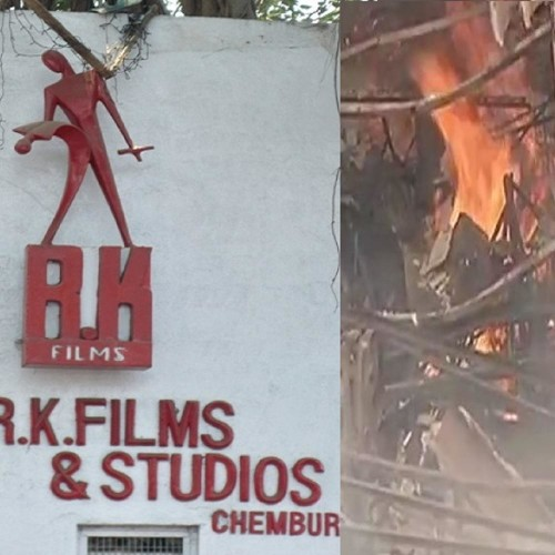 Fire broke out at Mumbai's RK Studio, 6 fire tenders in operation