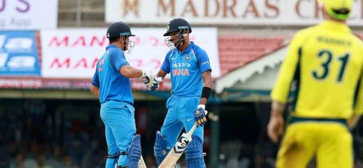 ind vs aus 2017: hardik pandya says it was important to make partnership with ms dhoni
