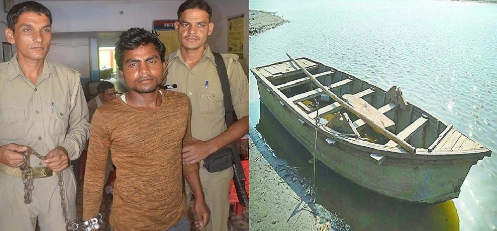 Boat Incident : rizwan said, six people jumped into the boat, hence immersed
