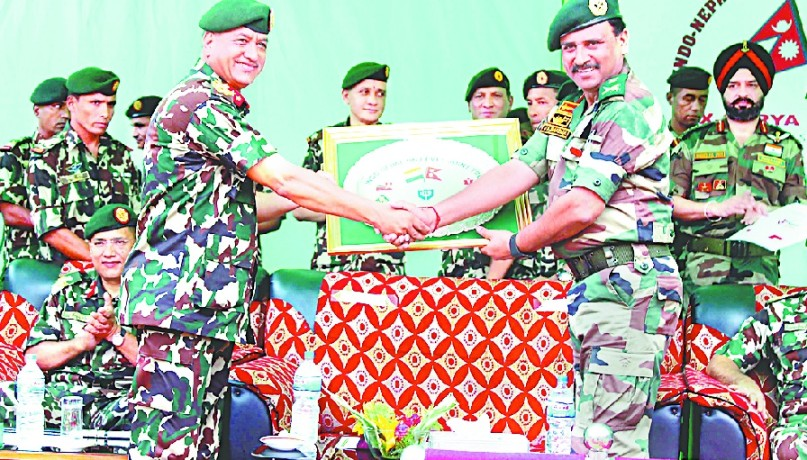 India-Nepal Army concluded joint exercises