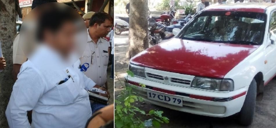 Chinese Embassy car caught in Hissar from Congress leader