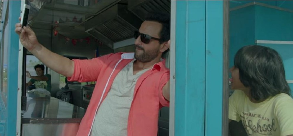 new song banjara of saif ali khan upcoming film chef released watch video