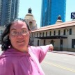 A California Woman marries train station which she loved for 36 years