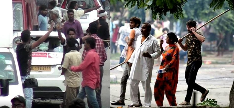 Haryana Police releases 10 photos of violence post RamRahim's conviction