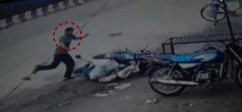 Caught on cam: 65-year-old gets beaten by man in Udaipur