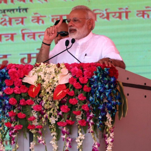 Pm Modi Announced in varanasi that all poor people will have own home