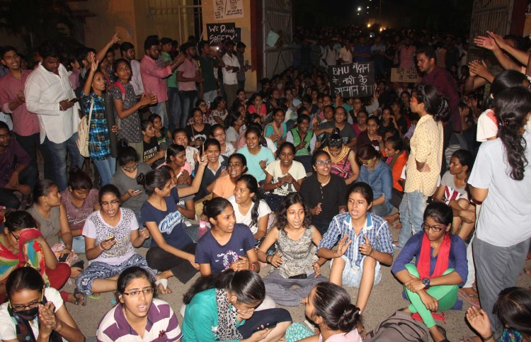 enquiry report of bhu lathicharge will complete in next week