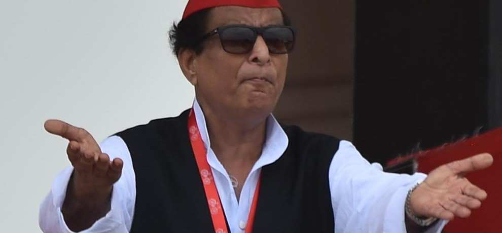 azam khan attacks on BJP.
