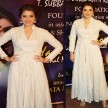 On the fifth day of Navratri you can try these white dress looks of Bollywood celebrities
