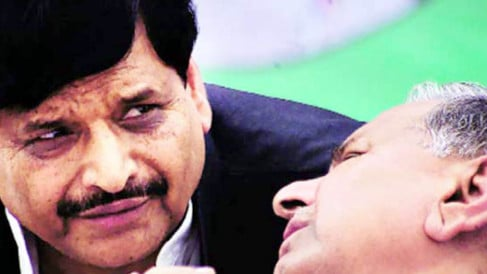 mulayam and shivpal supporters layoff