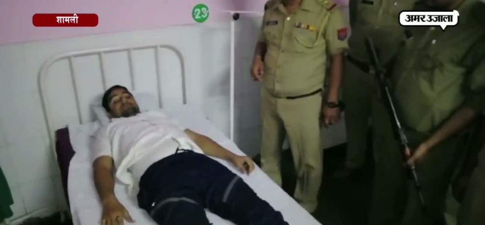 TWO ROBBERS ARRESTED BY POLICE IN SHAMLI AFTER AN ENCOUNTER