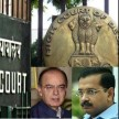 delhi hc to give results on kejriwal's appeal on thirty first october