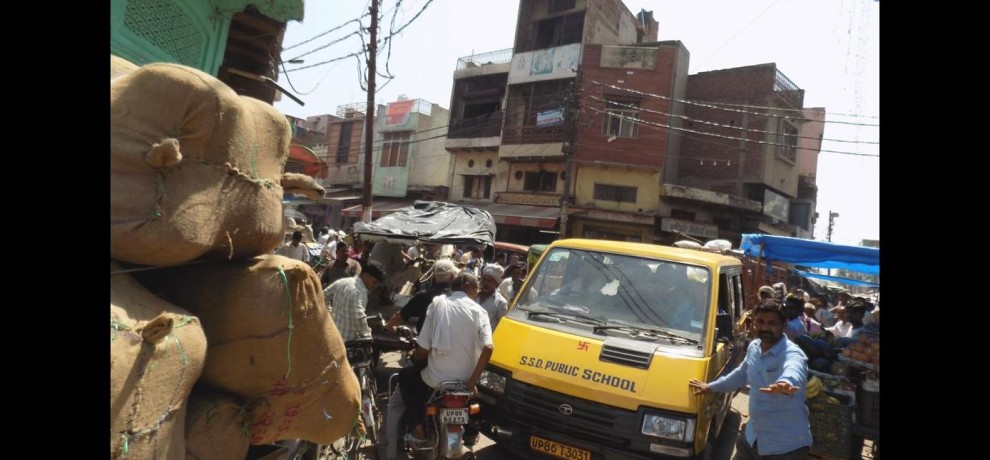Traffic police inadequate, people suffering from jam trouble