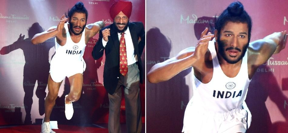 Flying Sikh Milkha Singh gets a Madame Tussauds wax statue