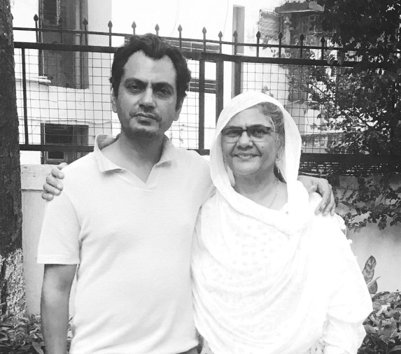 nawazuddin siddique mother has enlisted in top 100 powerful women list of bbc