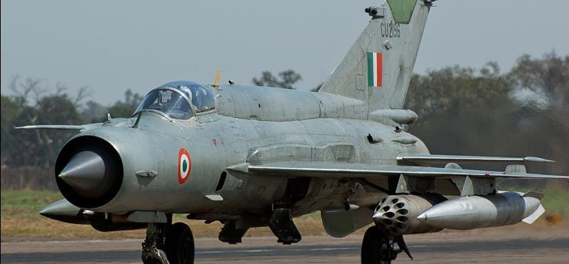 mig 21 fighter jet remove from jodhpur air base