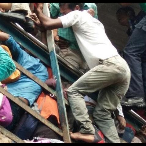 see in pictures mumbai elphinstone stampede accident