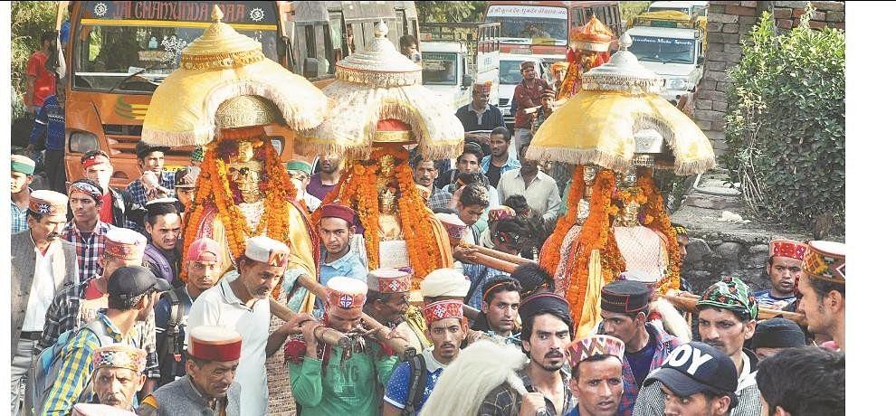 there will be a animal sacrifice in kullu dussehra utsav