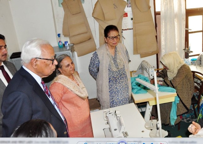 GOVERNOR visited the service center in Kupwara