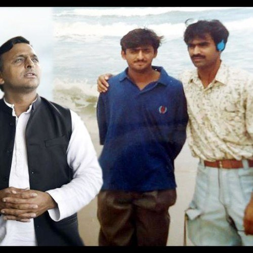 Dimple recently share old picture of Akhilesh on social media