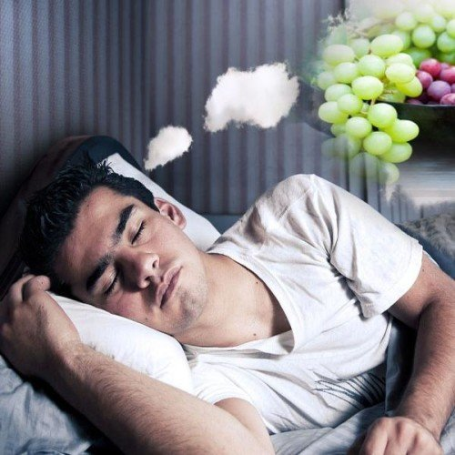 know means of your dream, when you saw eating grapes