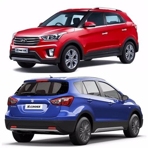 Maruti S-Cross Facelift vs Hyundai Creta: Comparision in Price, Specifications and Features