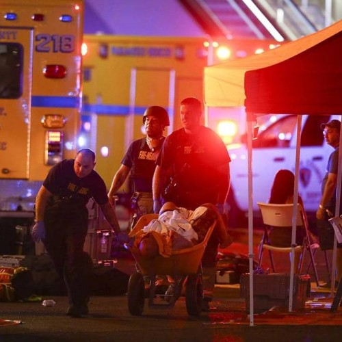 Las Vegas strip shooting: More than 50 people dead and 100 injured at a music concert