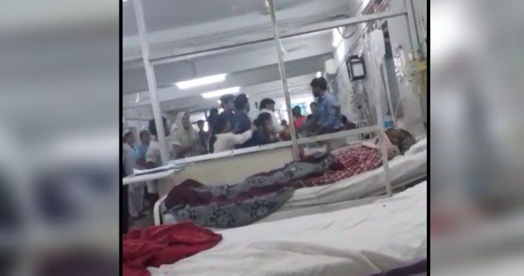 Viral video of hospital clash between doctor and patient