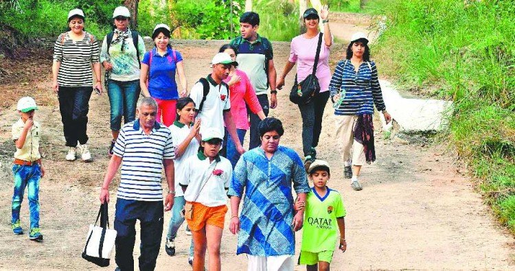 nepali to kansal trekking at chandigarh