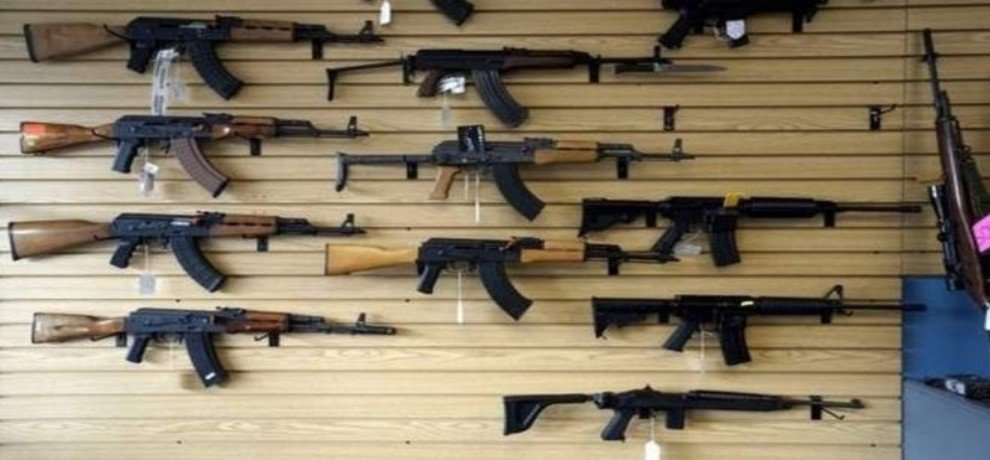 guns are everywhere in america, 68 percent crime is due to guns