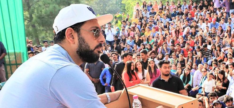 cricketer yuvraj singh launch off site center of his youwecan foundation