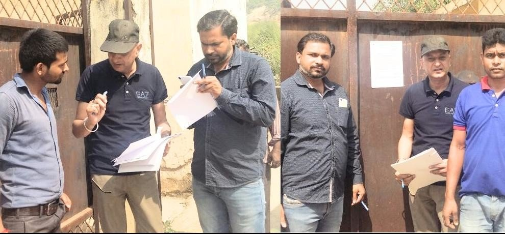 income tax department seized the property of two company in kala amb