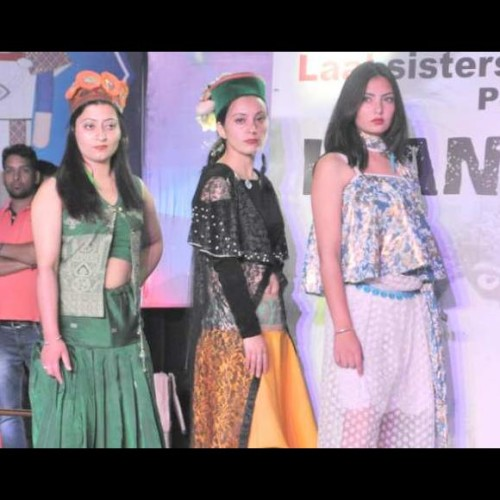 fashion show in international kullu dussehra