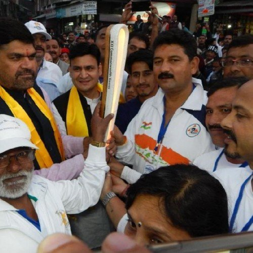 Queens baton relay huge welcome in kumaon uttarakhand