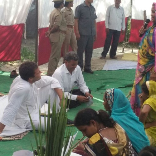 day two of rahul gandhi amethi visit.