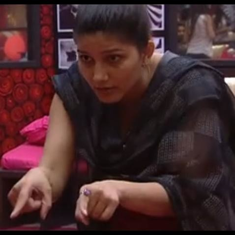 bigg boss 11 sapna choudhary failed in first luxury budget task