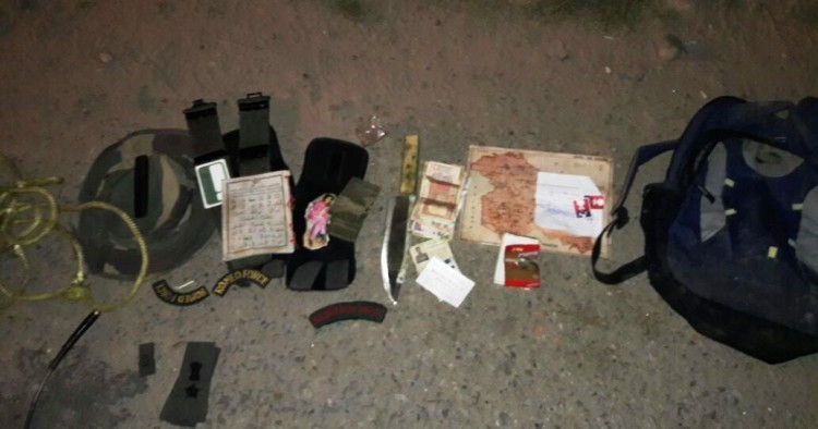 Suspect terrorists seen in Akhnoor, Maps and other items recovered