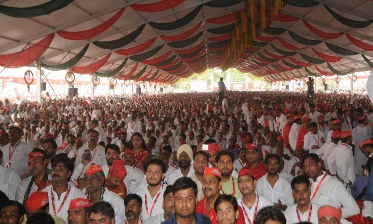 facts about samajwadi party national meeting in agra