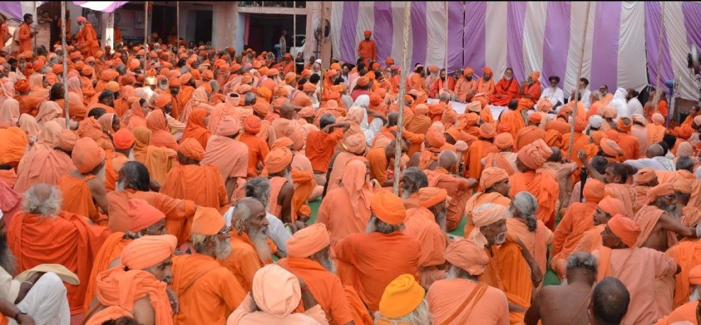All Indian Saints Committee National spokesperson statement for akhara parishad