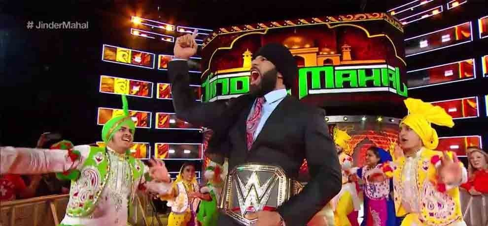 wwe returns to india jinder mahal along with many superstars will feature in the live event