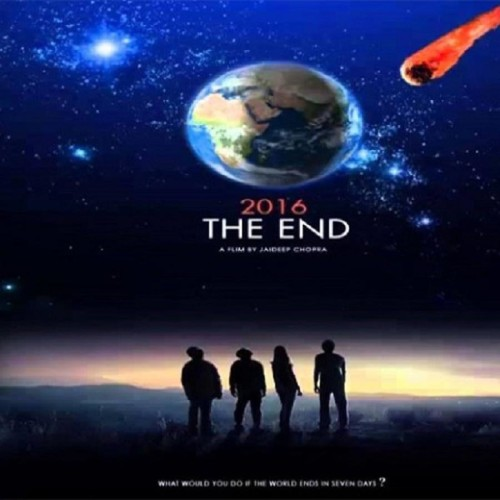 Film Review Of 2016 The End By Ravi Buleiy